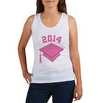 2014 Pink Graduation Women's Tank Top
