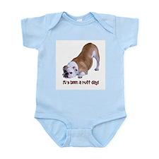 Bulldog Ruff Day Infant Bodysuit