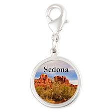 Sedona Silver Round Charm