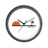 Cute Diving Wall Clock