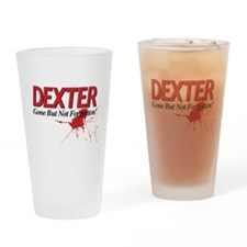Dexter Gone But Not Forgotten Drinking Glass