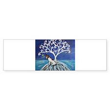 Jack Russell Terrier Tree Bumper Bumper Sticker