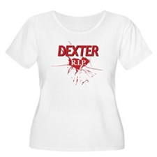DEXTER R.I.P. (Rest In Peace) Plus Size T-Shirt