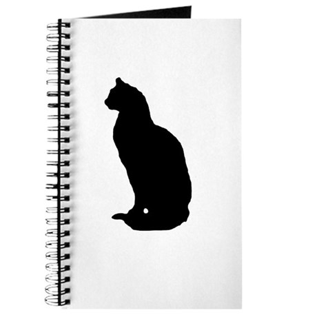 Cat Silhouette Journal