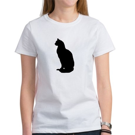 Cat Silhouette Women's T-Shirt