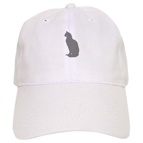 Grey Cat Cap