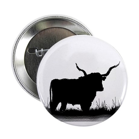 "Longhorn 2.25"" Button (100 pack)"