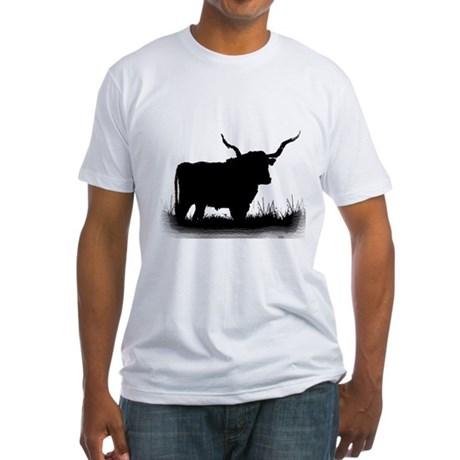 Longhorn Fitted T-Shirt