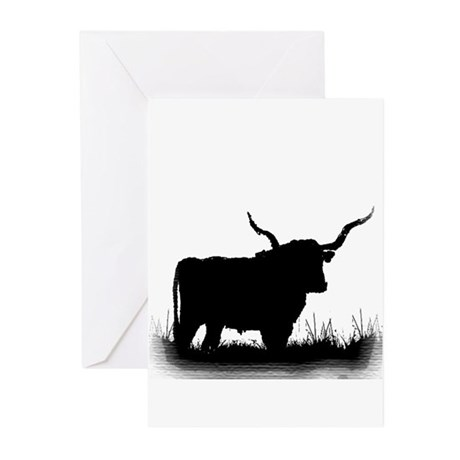Longhorn Greeting Cards (Pk of 10)