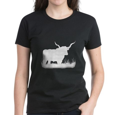 Longhorn Women's Dark T-Shirt