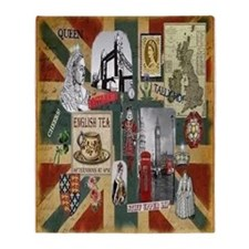 Anglophile's Throw Blanket