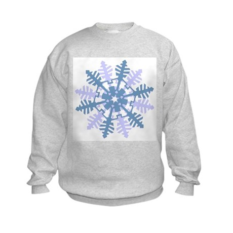 Snowflake Kids Sweatshirt