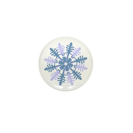 Snowflake Mini Button (100 pack)