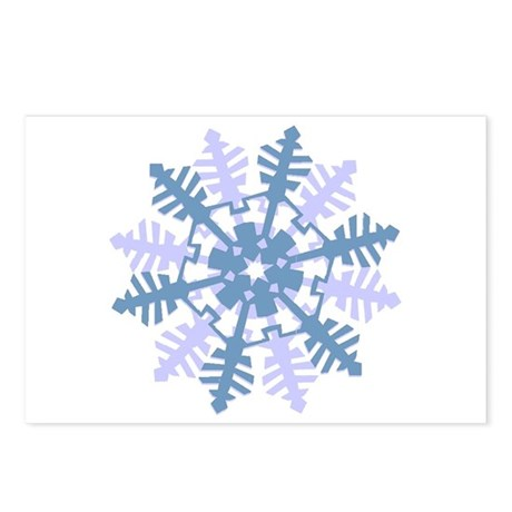Snowflake Postcards (Package of 8)