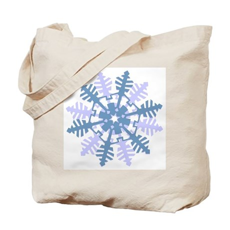 Snowflake Tote Bag