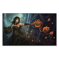Haunting Halloween Beauty Decal