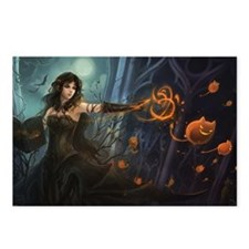 Haunting Halloween Beauty Postcards (Package of 8)