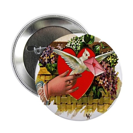 "Valentine 2.25"" Button (10 pack)"