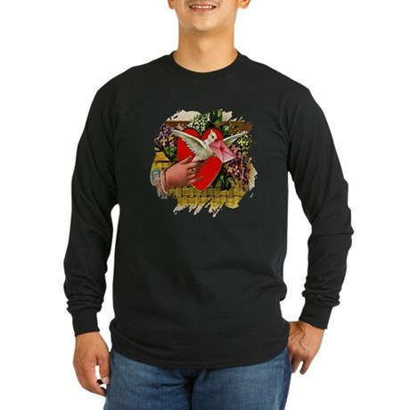 Valentine Long Sleeve Dark T-Shirt