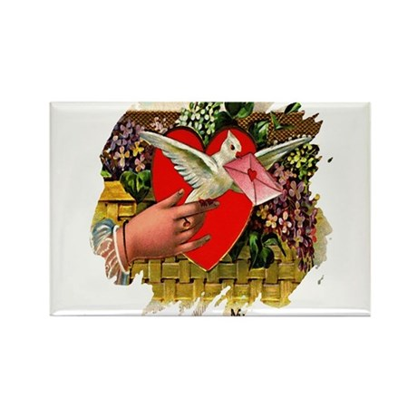 Valentine Rectangle Magnet (100 pack)