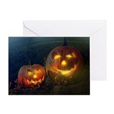 Jackolantern Delight Greeting Card
