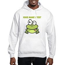 Custom Funny Cartoon Frog Jumper Hoody