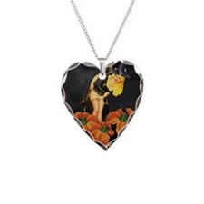 Halloween Pin up Necklace