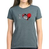 I heart chinchillas Tee