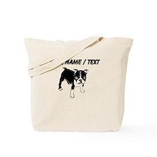 Custom Boxer Puppy Tote Bag
