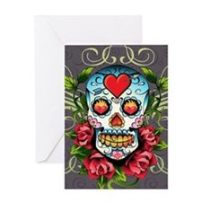 Hearts And Bone Greeting Card