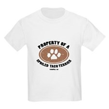 Taco Terrier dog Kids T-Shirt