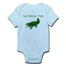 Custom Green Crocodile Body Suit