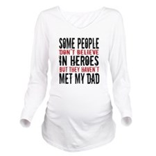 Hero Dad Long Sleeve Maternity T-Shirt
