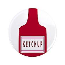 "Ketchup Bottle 3.5"" Button"