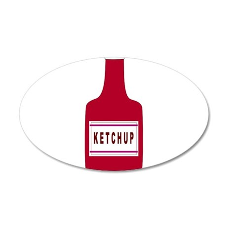 Ketchup Bottle Wall Decal