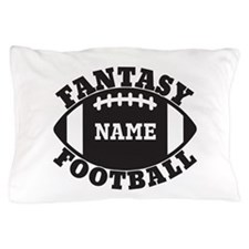 Personalized Fantasy Football Pillow Case