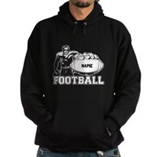 Personalized Football Player Hoody