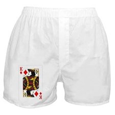 Cute Texas hold em kings Boxer Shorts