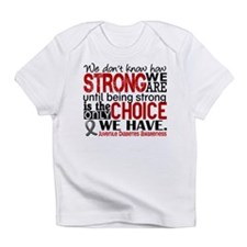How Strong We Are Juv Diabetes Infant T-Shirt