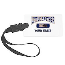 Custom Little Brother Luggage Tag