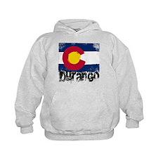 Durango Grunge Flag Hoodie