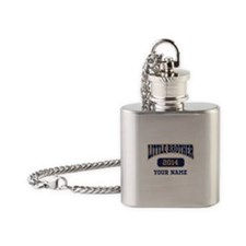 Custom Little Brother Flask Necklace