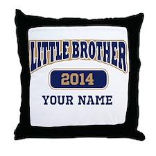 Custom Little Brother Throw Pillow