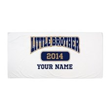 Custom Little Brother Beach Towel
