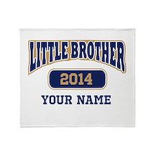 Custom Little Brother Throw Blanket