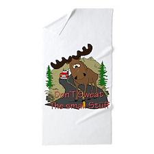 Moose fun Beach Towel