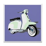 Mod Scooter Tile Coaster