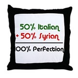 Italian & Syrian Throw Pillow