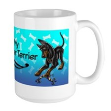 I Love my Manchester Terrier Mug