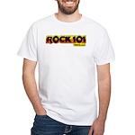 ROCK101 White T-Shirt